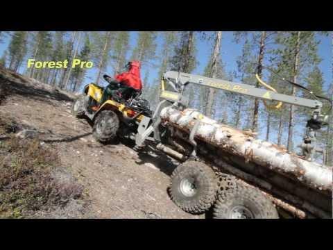 Forest Pro -rankakärryn avainominaisuudet