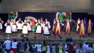 "Tańce kaszubskie - Koncert ZPiT Lublin"" Lublin-Lublinowi"" 19.06.2016"