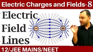Electric Charges and Fields 08 | Electric Field 5 : Electric Field Lines IIT JEE MAINS/NEET