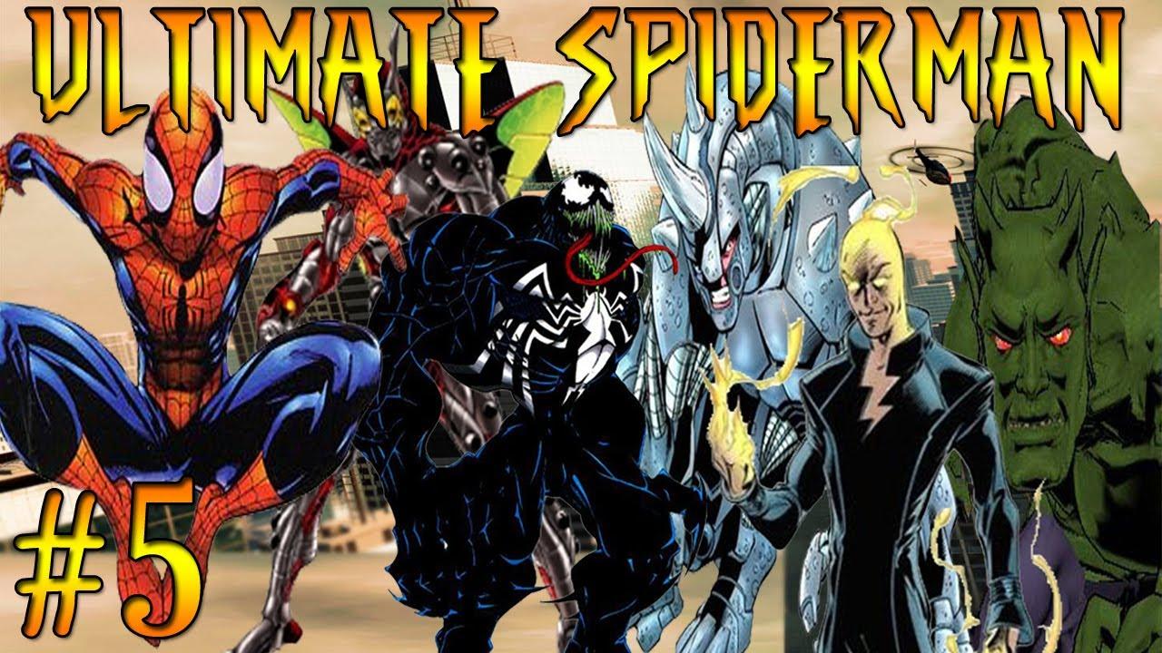 Let's Play Ultimate Spiderman Part 5 Venom Vs Electro ! - YouTube