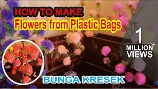 Creative Zone - Making Flowers From Plastic Bags (Crackle)