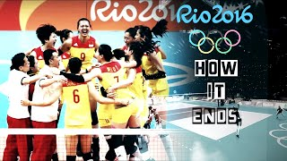 Volleyball. Rio 2016 | How it ends.