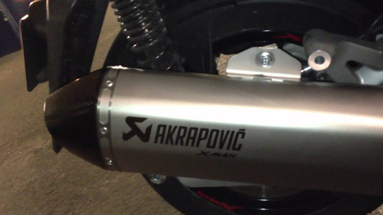pot echappement akrapovic xmax