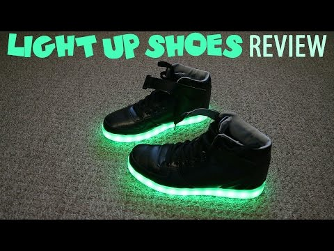 Light Up Shoes - LED Shoes Review