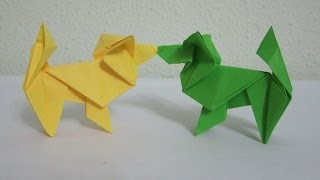 How To Make An Origami Dog (the Papillon)