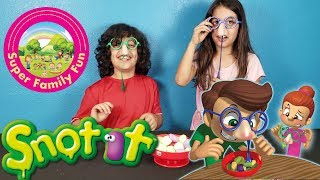SNOT IT - THE GROSS GAME OF BOOGEY FUN | Super Family Fun
