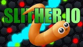 обозреваю игру slither.io