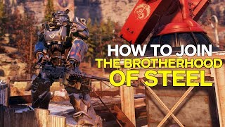 Fallout 76: How to Join the Brotherhood of Steel