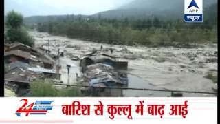 Flash floods wreak havoc in Kullu-Manali