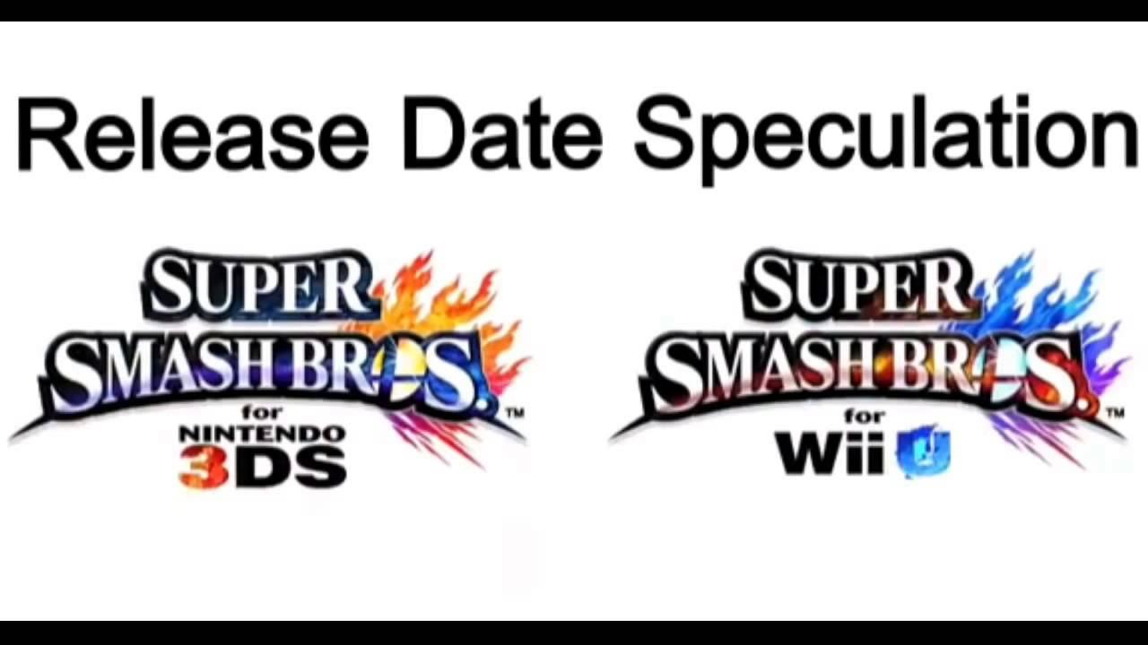 Super smash bros 4 wii u release date