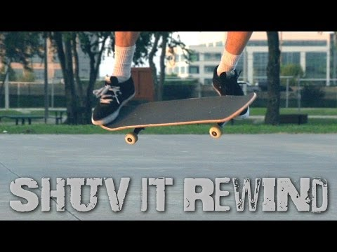 Shuvit Rewind in Slow Motion (Jason Bastian)