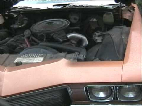 1973 Buick Riviera Boattail. pierwsze odpalenie uick riviera boattail first engine start up big block V8