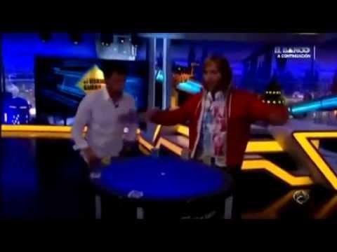 David Guetta con Reactable y una cabina Dj total