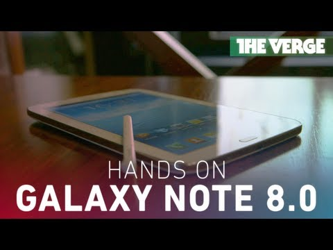 Samsung Galaxy Note 8.0 hands-on demo