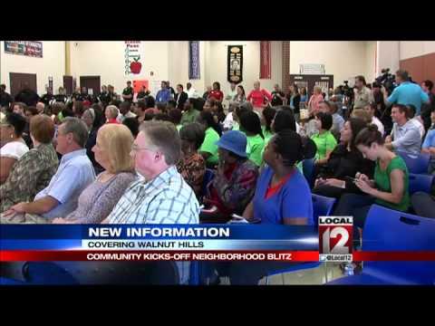 Neighborhood blitz set to revitalize Walnut Hill