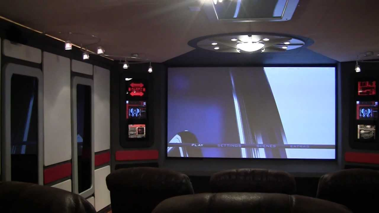 Diy Star Trek Home Theater Final Project Video Youtube
