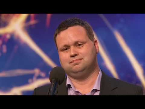 Paul Potts sings Nessun Dorma