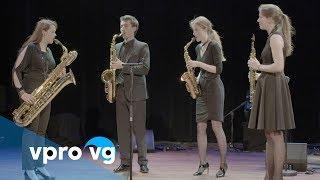 Ebonit Saxophone Quartet   Dvořák  from: Stringquartet nr  12, opus 96 The American