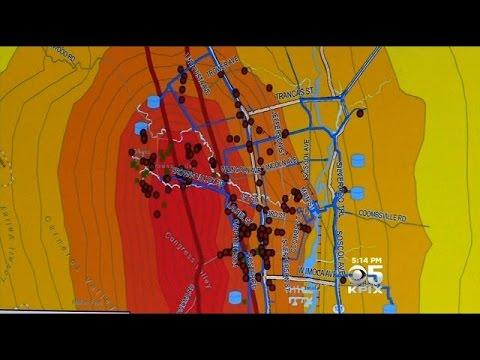 Water Main Breaks Plague Napa Following Earthquake