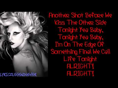Lady Gaga - The Edge Of Glory [Lyrics] HD || REQUESTED
