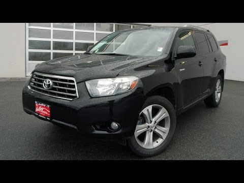 (SOLD) 2008 Toyota Highlander Sport Preview, At Valley Toyota Scion In Chilliwack B.C. # 14578B
