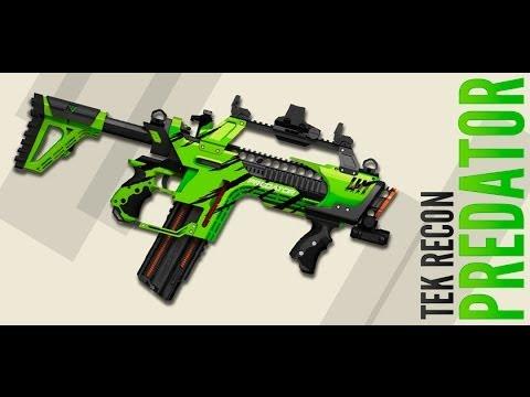 III Facecast - 028 - Nerf Slingfire. Thunderbow. Demolisher. and Elitecam. and Tek Recon Predator