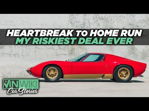 What mystery celebrity is Lambo buying back our Miura SV for?