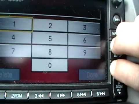 How to get the serial number for navigation code on honda