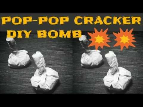 POP POP Cracker Bomb Snapper | How to make | Deewali | DIY Homemade | KesPra ✔