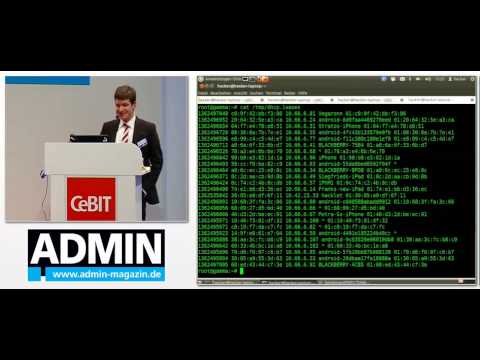 Stefan Tomanek: Mobile Security - Bedrohungsszenarien und Live-Hacking