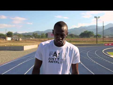 100m By Usain Bolt - From The Movie Usain Bolt : The Fastest Man Alive video