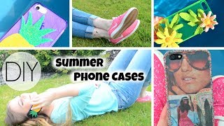 DIY Summer Phone Cases