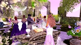 Wedding of Princess Swis Shadow & Prince Shadow Second Life