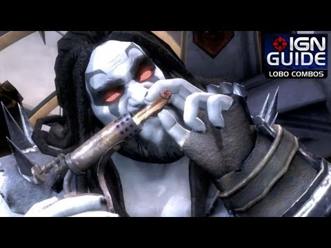 Injustice: Gods Among Us - Lobo Combos 1