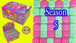 Shopkins Season 5 Mystery Surprise Petkins Blind Bag Full Box Unboxing - Cookieswirlc Video