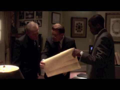 The West Wing Holy Land Map