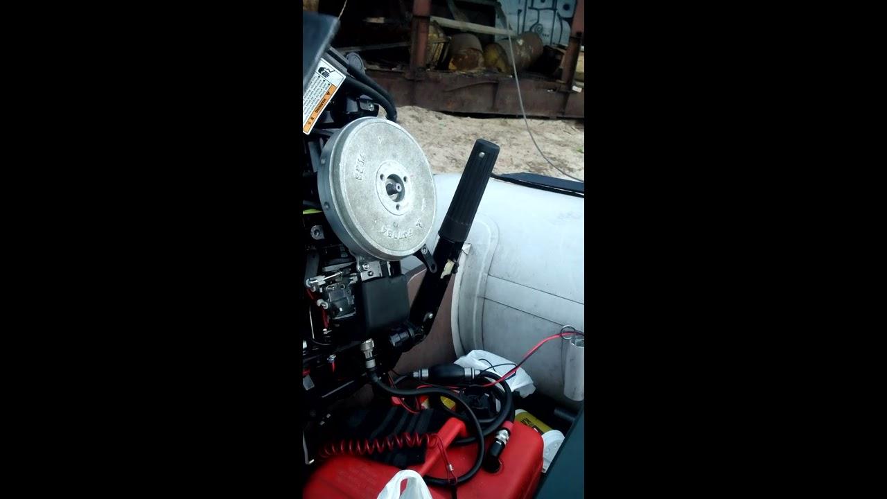 Как сделать генератор на лодочный мотор