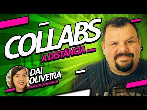 Como fazer COLLAB no YouTube a distância 🎥 COLAB A DISTÂNCIA thumbnail