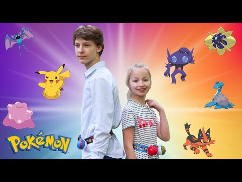 POKEMON GO // Let's PLay from Varya and Dima //Just Play