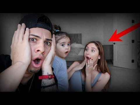 GHOST CAUGHT ON CAMERA IN OUR NEW HOUSE!!!
