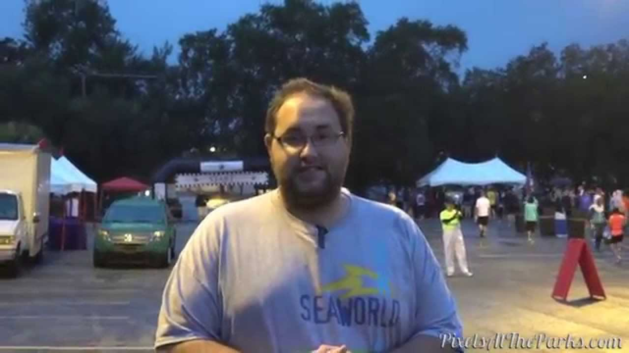Banks Running The 5k At Busch Gardens Tampa Youtube