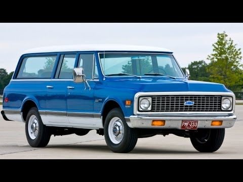 Chevrolet Suburban. 1972. first drive