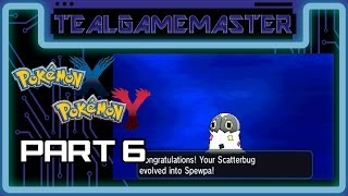Pokemon X and Y - Part 6: Scatterbug Evolves Into Spewpa