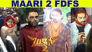 Sai Pallavi, Srikanth, Balaji Mohan at Kasi Theater | Maari 2 FDFS Mass Celebration! | Dhanush