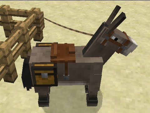 Minecraft Snapshot 13w16a Review -- Horses, Carpet and More