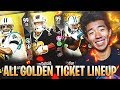 ALL GOLDEN TICKET TEAM! THE UNSTOPPABLE TEAM BUILDER! Madden 18 Ultimate Team