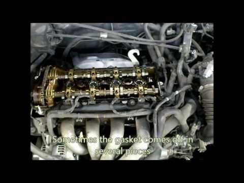 2002 Toyota Corolla Valve Cover Gasket and Spark Plug Replacement