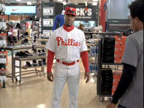 Dick's Sporting Goods featuring Jimmy Rollins by W+K
