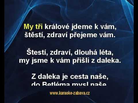 My Tři Králové - Koleda Karaoke Tip