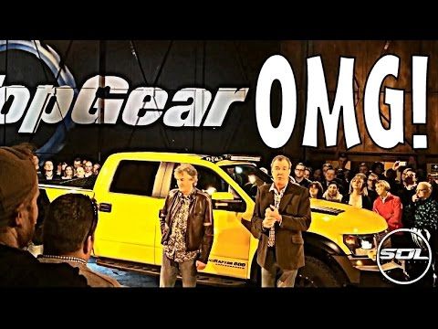 TOP GEAR: BEHIND THE SCENES VLOG!!!